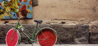"""Una bicicleta """"SANDÍA"""""""