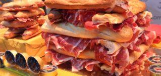 Quiero comer un bocadillo de jamón