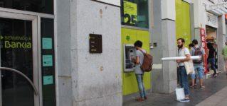 Los cajeros automáticos en España