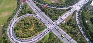 Atascos en las autopistas