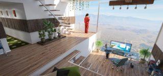 Casa con buenas vistas