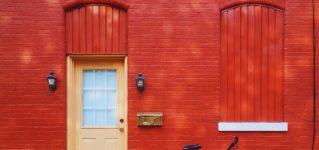 El rojo es mi color favorito, pero no quiero una casa roja