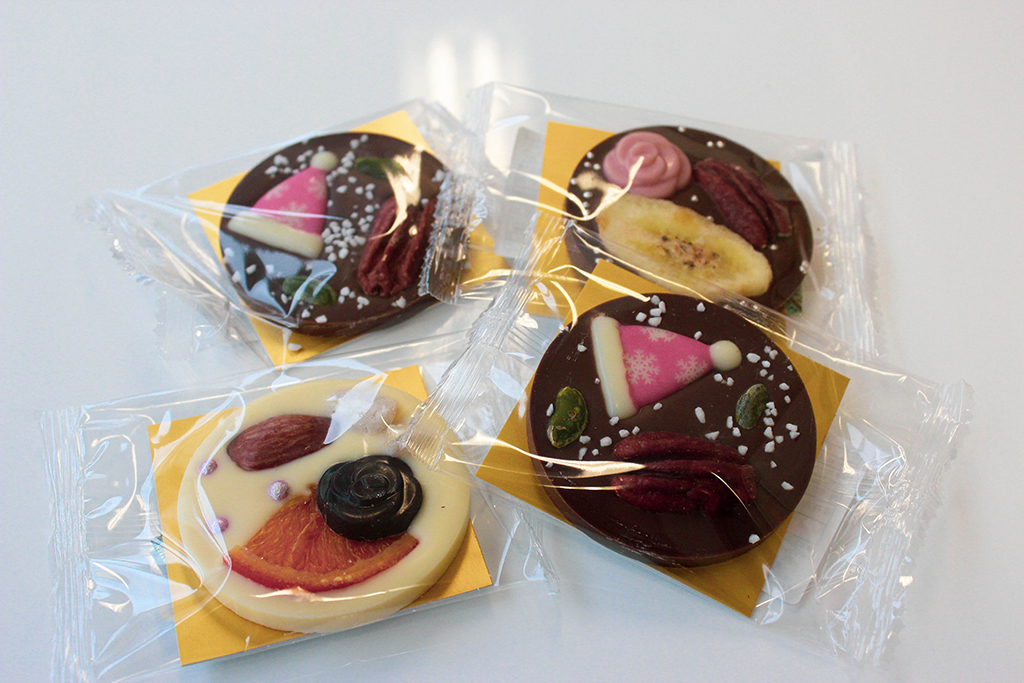 ¡Muchas gracias! 美味しいクリスマスのチョコ菓子・2