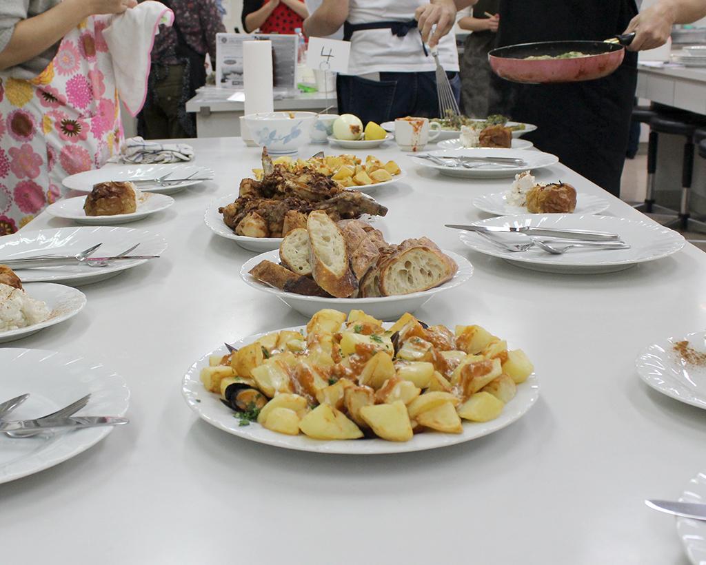 楽しかったミケル先生のスペイン料理会!