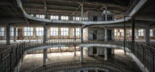 Curiosidad por los edificios abandonados