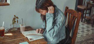 Estudiar en una cafetería