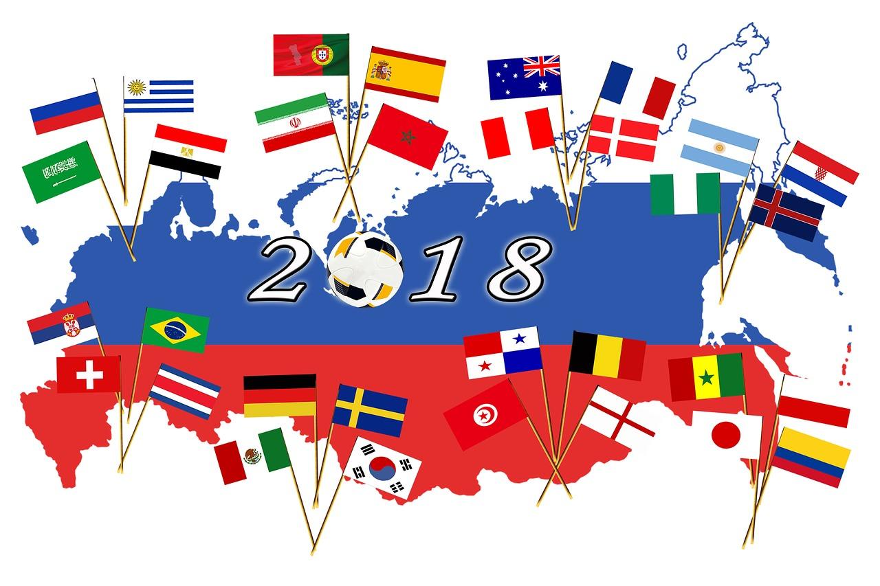 2018ワールドカップロシア大会始まります!