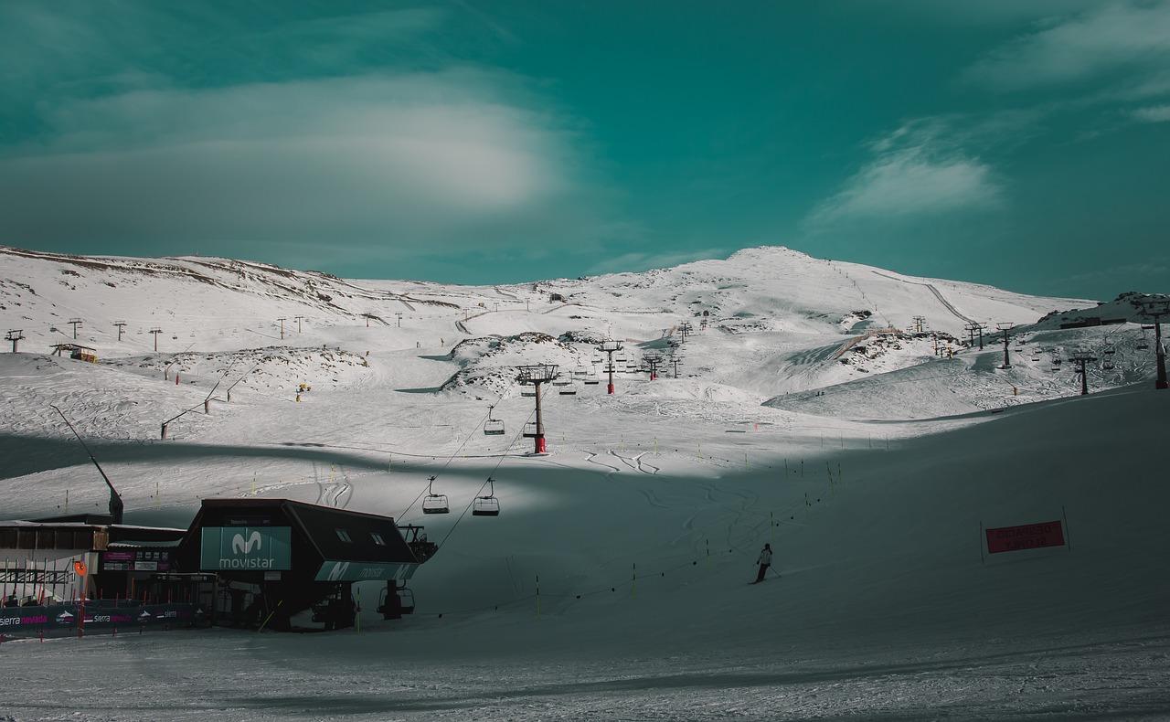 スペインのスキー場