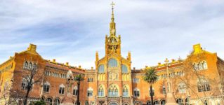 世界で最も美しい病院と言われるバルセロナの世界遺産 サン・パウ病院