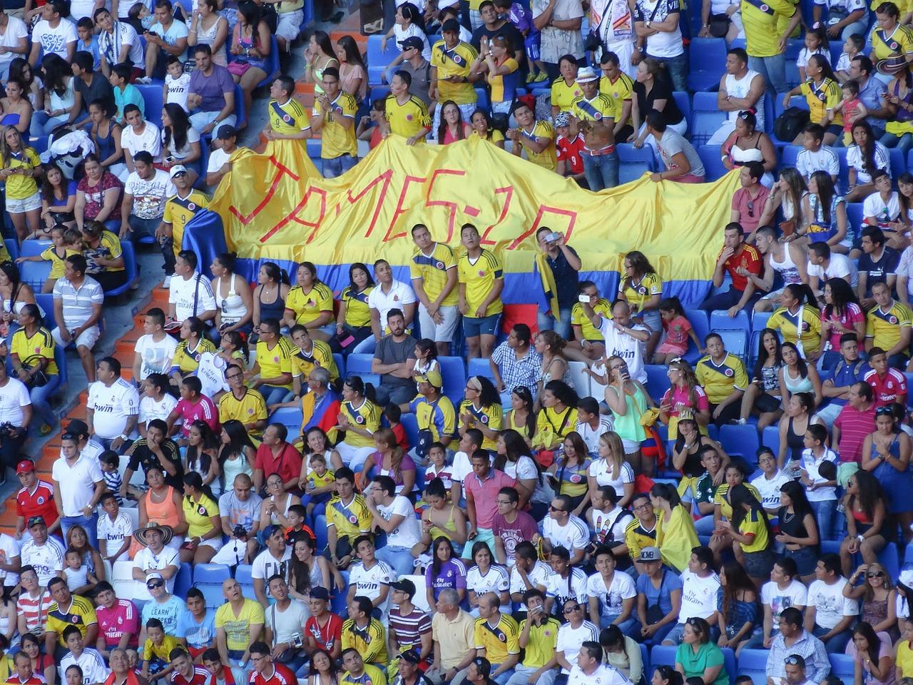 2018ワールドカップ日本対コロンビア対戦後