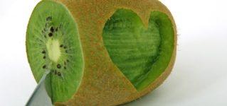 """Decir """"te quiero"""" con un kiwi"""