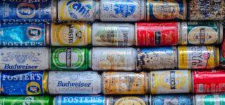 Colección de latas