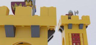 Castillo de LEGO