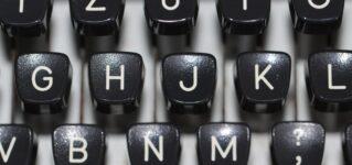 ¿Cómo aprendiste a escribir a máquina?