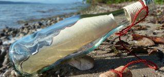 どこから来た?スペイン語のメッセージが入った瓶が南鳥島に漂着