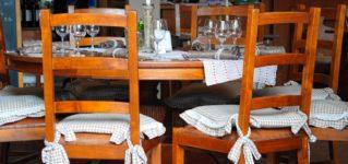 ¿Qué hay en la mesa de un restaurante?