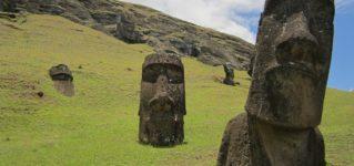 モアイの石像