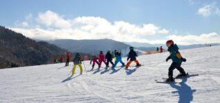 Hoy he ido a esquiar
