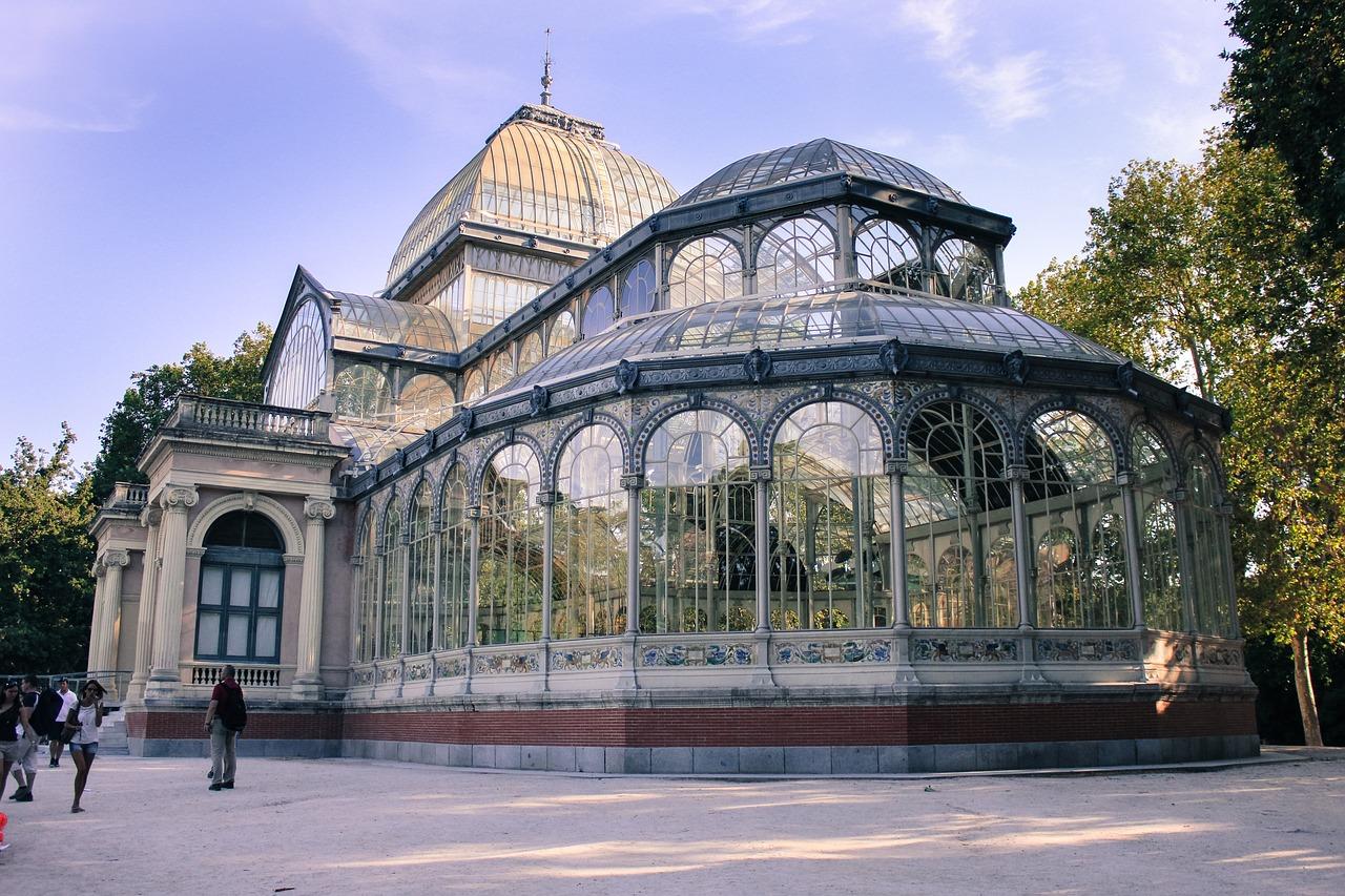 レティーロ公園のクリスタル宮殿