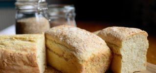 Pan de molde para desayunar