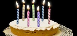 ¿Te gusta celebrar tu cumpleaños?
