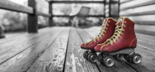De pequeño patinaba todos los días en el colegio