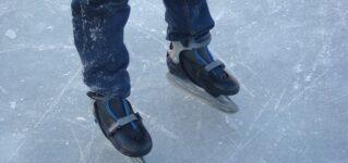 Hoy he ido a patinar sobre hielo