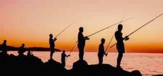 Mañana voy a ir a pescar