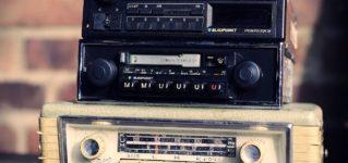 Antiguas radios de los coches