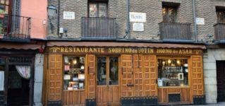 創業時から窯の火を絶やしたことのないマドリードのレストラン、<br><br>カサ・ボティン