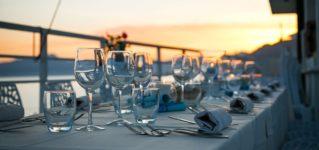 Restaurantes sin clientes