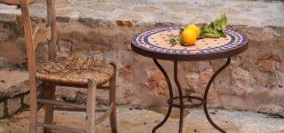 Sillas y mesas españolas