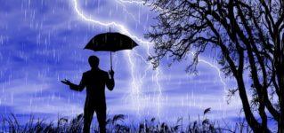 Estos días está lloviendo mucho